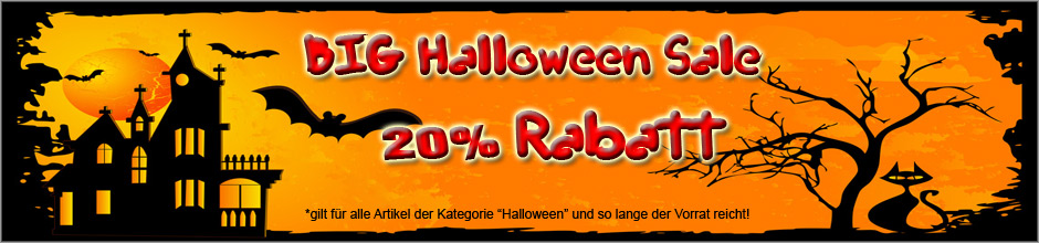 Halloween Sale bei Kreativtiger