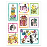 "Penny Black Sticker ""party animals"""