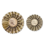 Tim Holtz / Sizzix Sizzlits Decorative Strip Die - Mini Paper Rosettes (2 Größen)