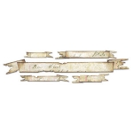 Tim Holtz / Sizzix Decorative Strip Die - Tattered Banners