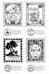 Birthday Postage Stamp Sentiments
