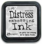 Distress Embossing Ink - Clear