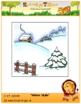 Digistamp-Winter Idylle