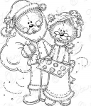 Mr. And Mrs. Teddy Claus