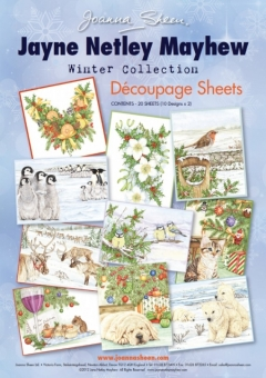 Jayne Netley Mayhew Decoupage - Winter Collection