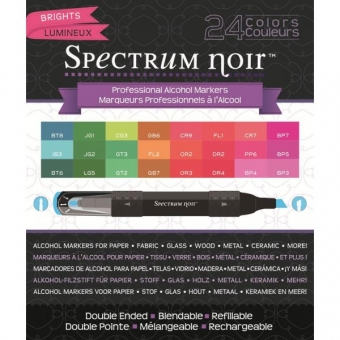 Spectrum Noir Stifte 24er Box Brights