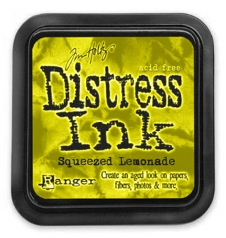 Distress Ink - squeezed lemonade