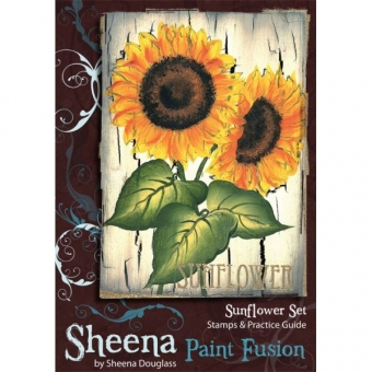 Paint Fusion Stamp - Sunflowers