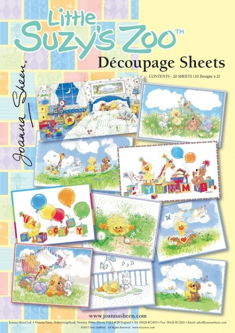 Little Suzys Zoo Decoupage Sheets