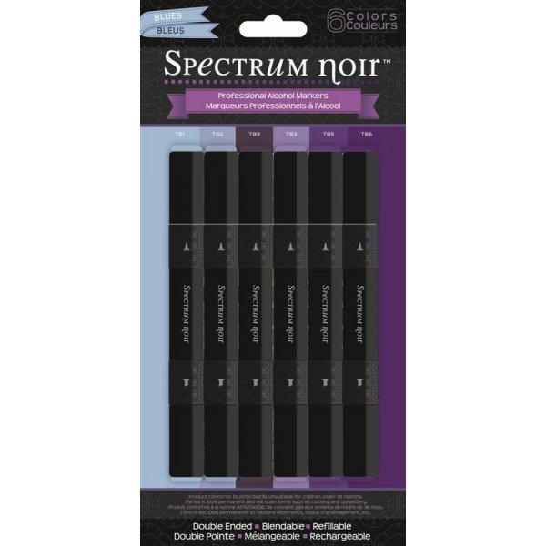 Spectrum Noir Stifte Set - Blues