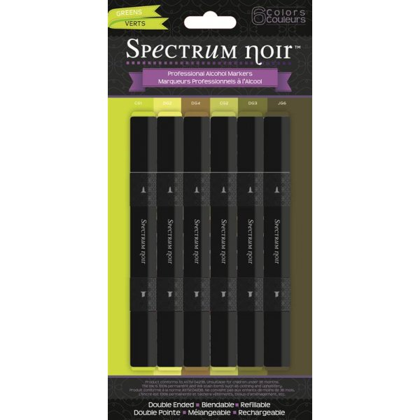Spectrum Noir Stifte Set - Greens