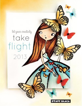 "Penny Black ""take flight 2013"""