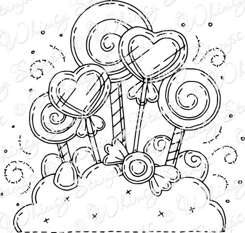 candyland castle coloring pages free - photo#27